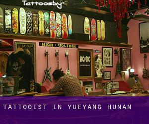 Tattooist in Yueyang (Hunan)